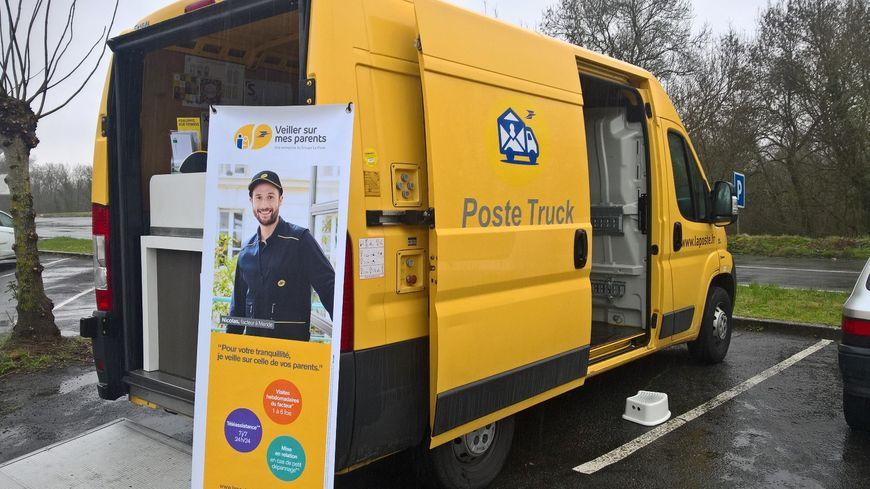 Le Poste Truck à Saint-Etienne-de-Chigny en Indre-et-Loire