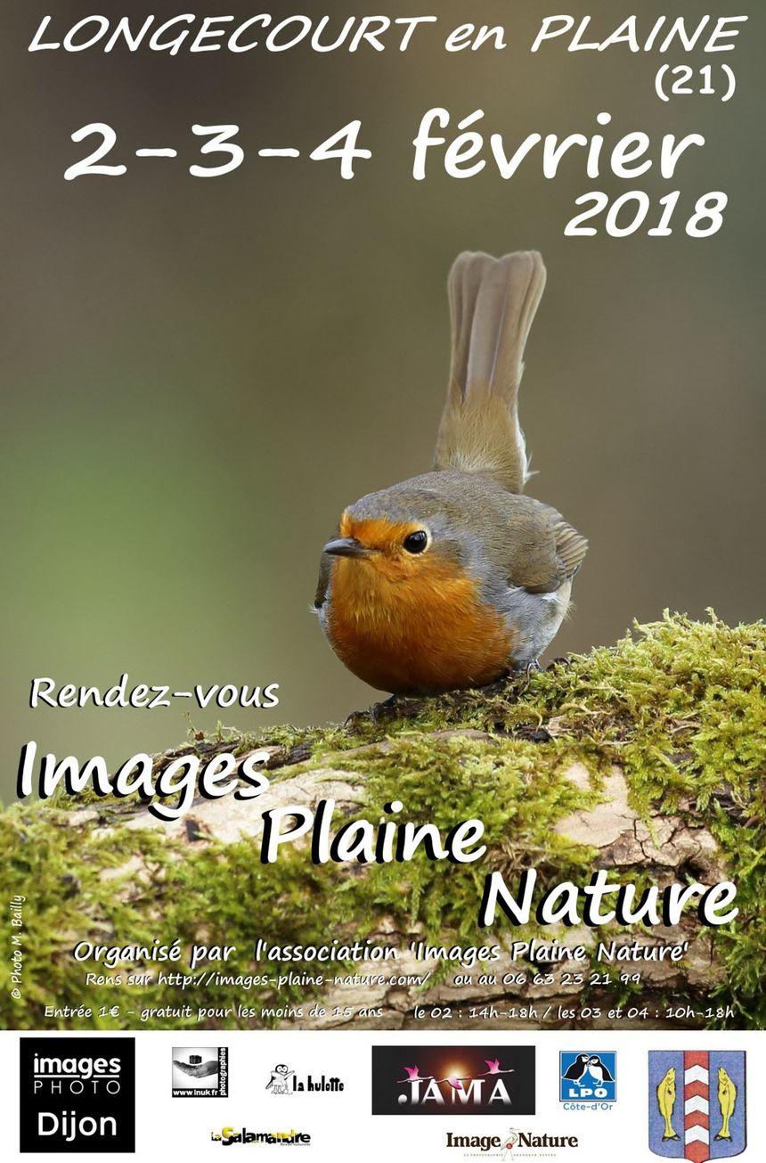 """Week-end """"Images Plaine nature""""  du 2 au 4 février à Longecourt-en-Plaine"""