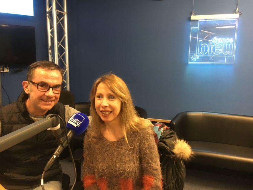 Franck Langlois et Lizz Plum'