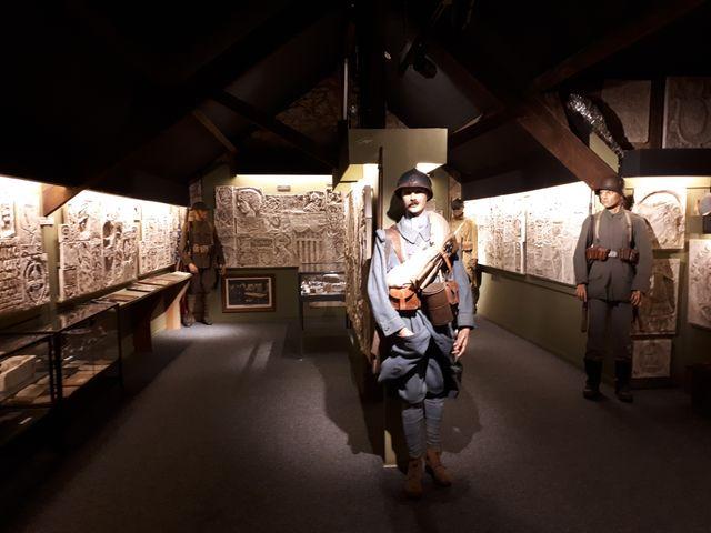 Musée de la Mémoire des mur à Verneuil-en-Halatte, dans l'Oise