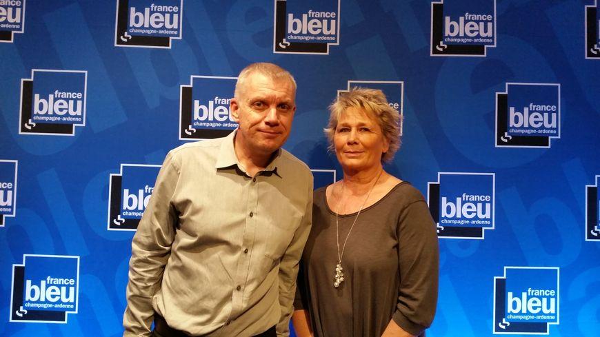 David Lemaire et Isabelle Mauran, de l'ARADOPA