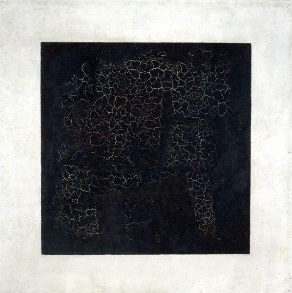 Kasimir Malevich, Carré noir sur fond blanc, oeuvre de 1915