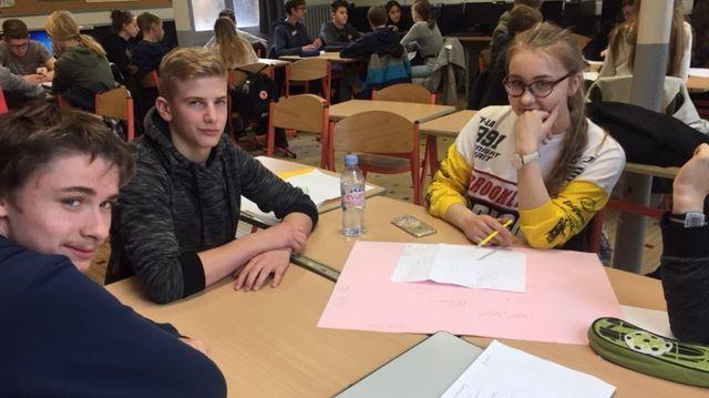 Des collégiens français, danois et finlandais imaginent un jeu virtuel sur le développement durable
