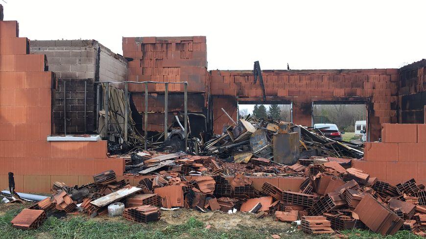 Le 1er janvier, un incendie a ravagé la maison de la famille Kellener, à Montréal-du-Gers
