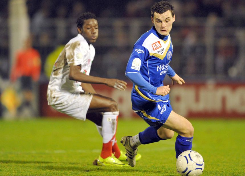 Quand Julien Faussurier affrontait Brest avec Troyes.