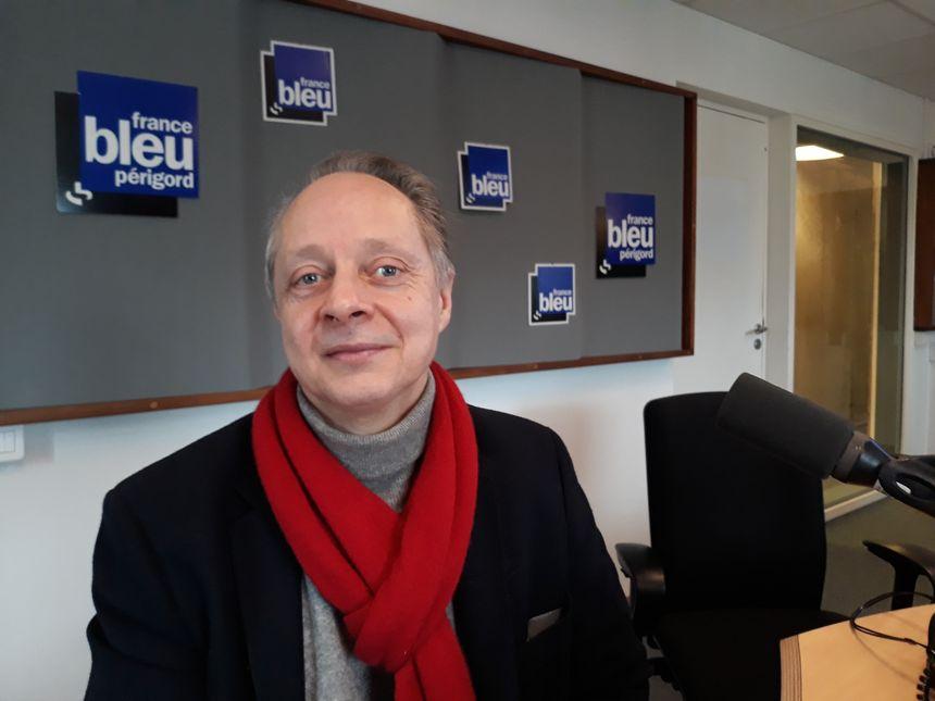 Laurent  Peslerbe du Château Mounet Sully