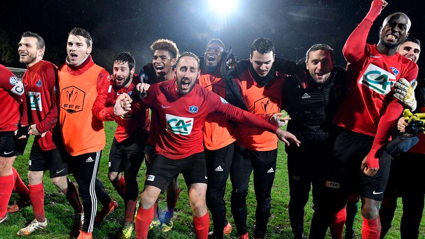 Les Herbiers ont battu Saint-Lô en 16e de finale de la Coupe de France