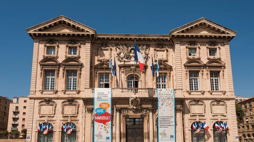La mairie de Marseille (illustration)