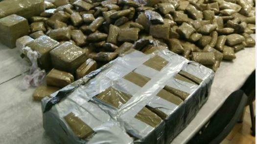 Les gendarmes ont saisi 68 kg de résine de cannabis