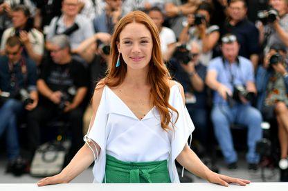 Laetitia Dosch au Festival de Cannes en 2017