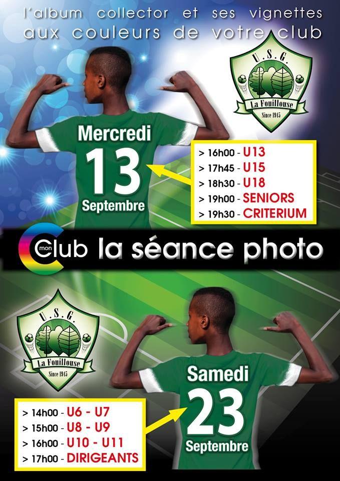 Le calendrier du club de La Fouillouse