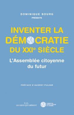 Couverture, Inventer la démocratie du XXIe siècle