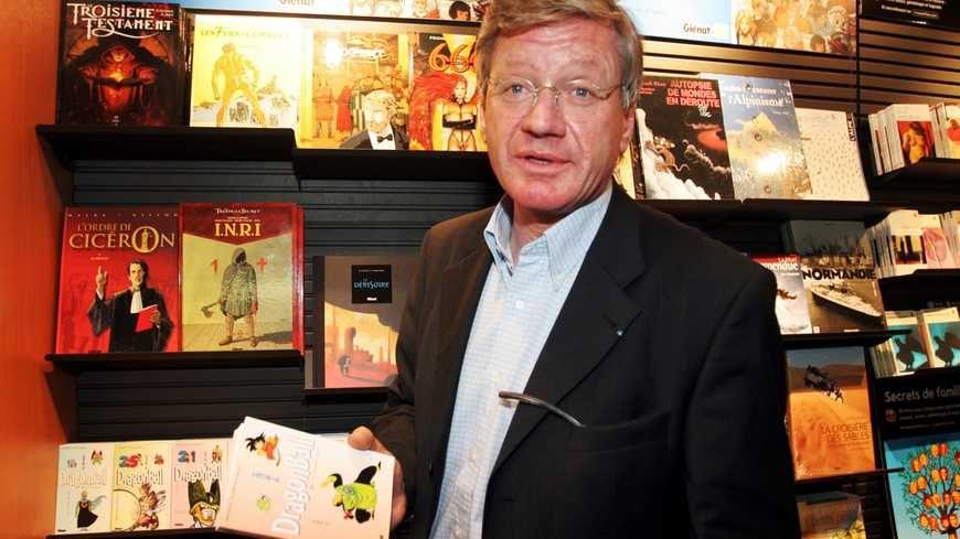 Jacques Glénat, fondateur des éditions qui portent son nom