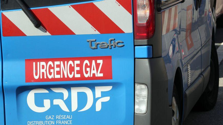 Une voiture d'intervention d'urgence de GRDF