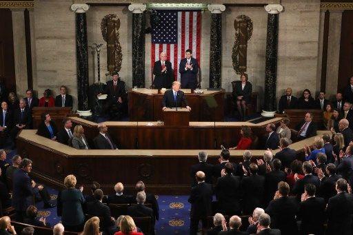 Donald Trump s'est posé mardi en président rassembleur, appelant élus démocrates et républicains à travailler ensemble,