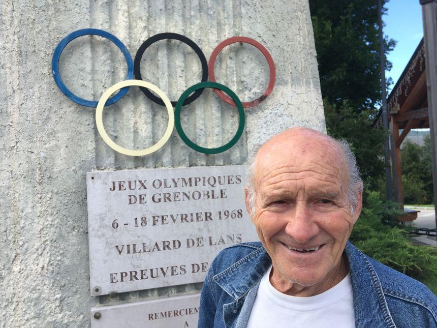 Claude Terraz, responsable des épreuves nordiques à Autrans, en 1968.
