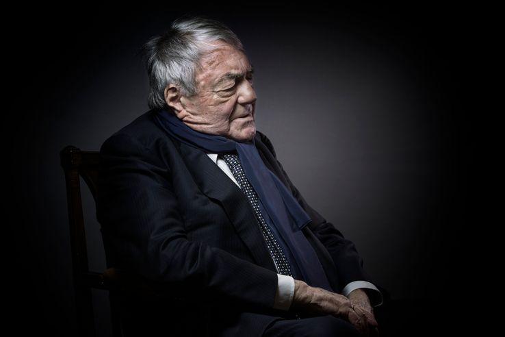 Claude Lanzmann à Paris le 11 Février 2016.