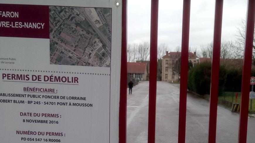 La caserne Faron à Vandoeuvre accueille de manière « provisoire » des migrants depuis plus de quatreans.