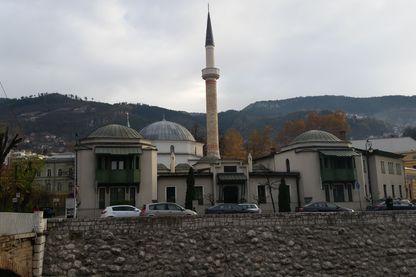 Le siège du grand mufti de Sarajevo qui représente l'islam traditionnel de Bosnie