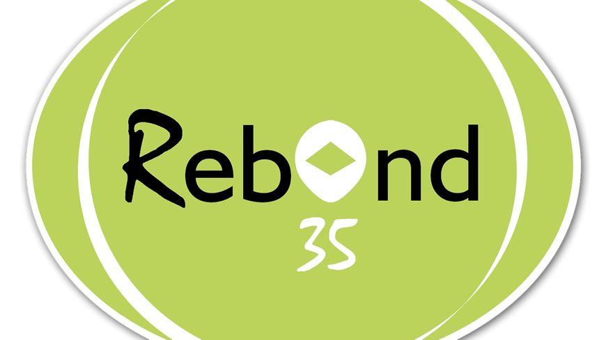 Logo de l'association Rebond 35, qui aide les chefs d'entreprise en difficulté en Ille-et-Vilaine