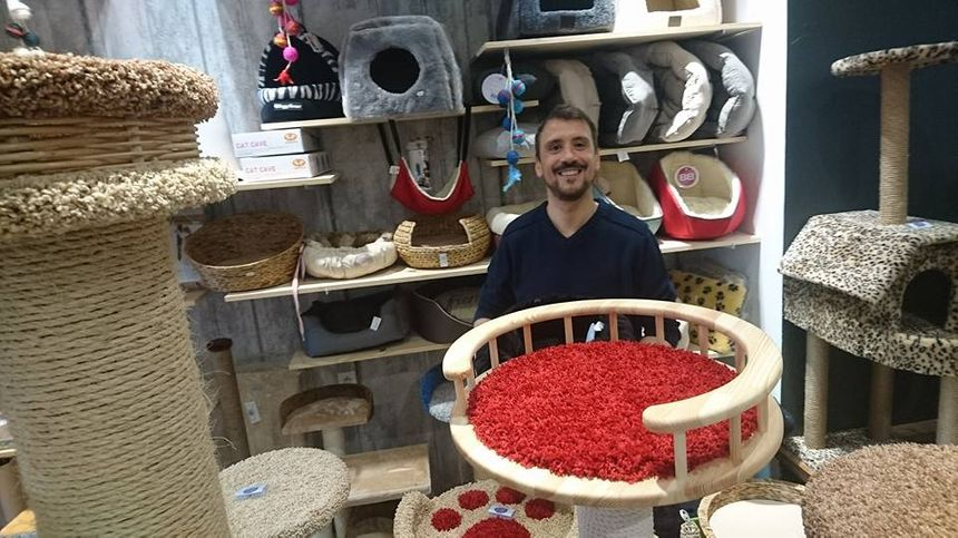 Benoit Sery, le co-fondateur de la boutique du chat urbain