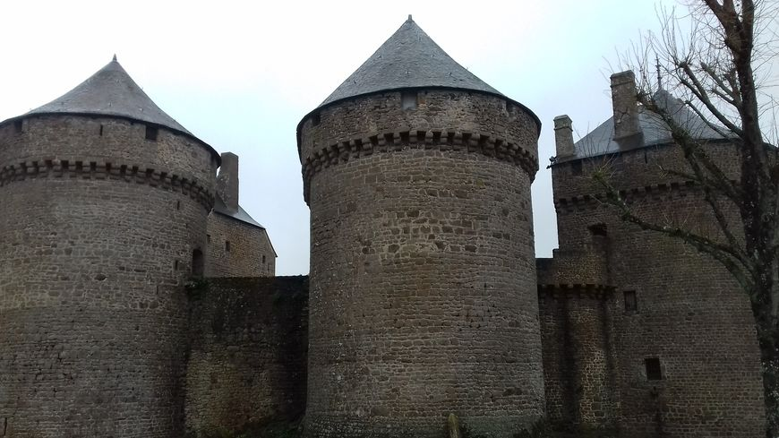 Le château de Lassay-les-châteaux est en rénovation régulièrement depuis quatre ans.