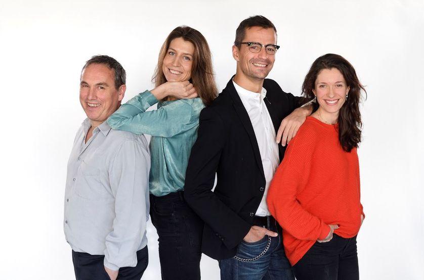 Emmanuel Laurentin / Adèle Van Reeth / Nicolas Martin / Maylis Besserie