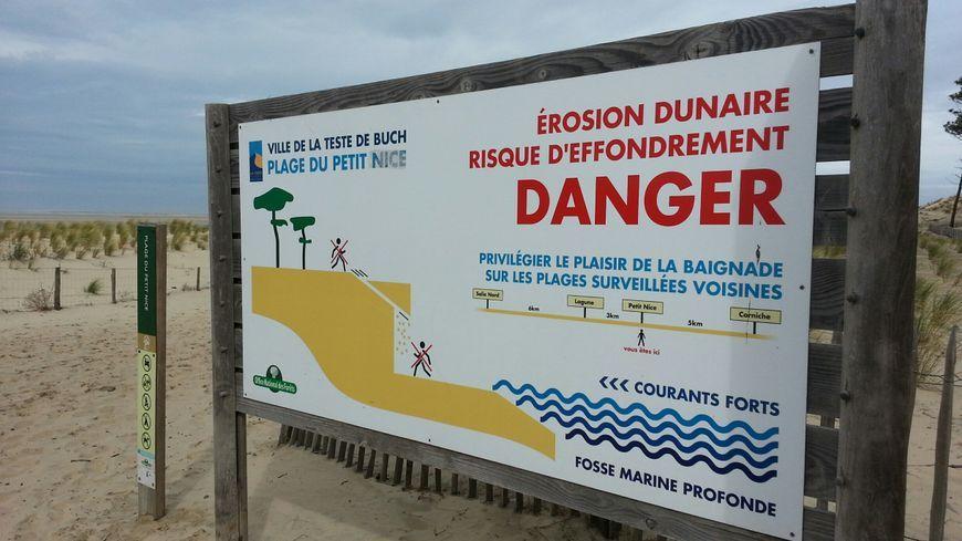 La plage du petit nice fragilisée par l'érosion