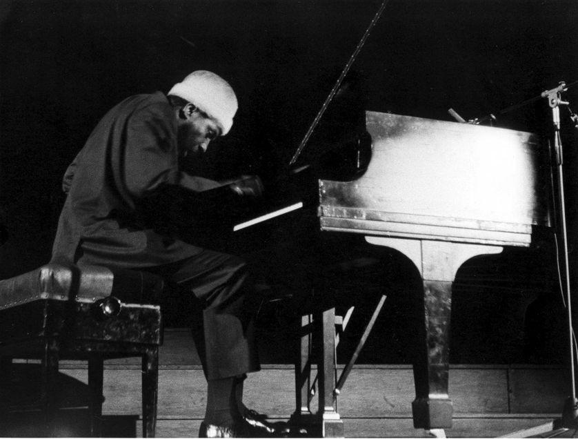 Thelonious Monk en concert à Bruxelles le 1er mars 1964