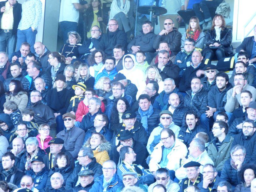 supporters du rugby Landais