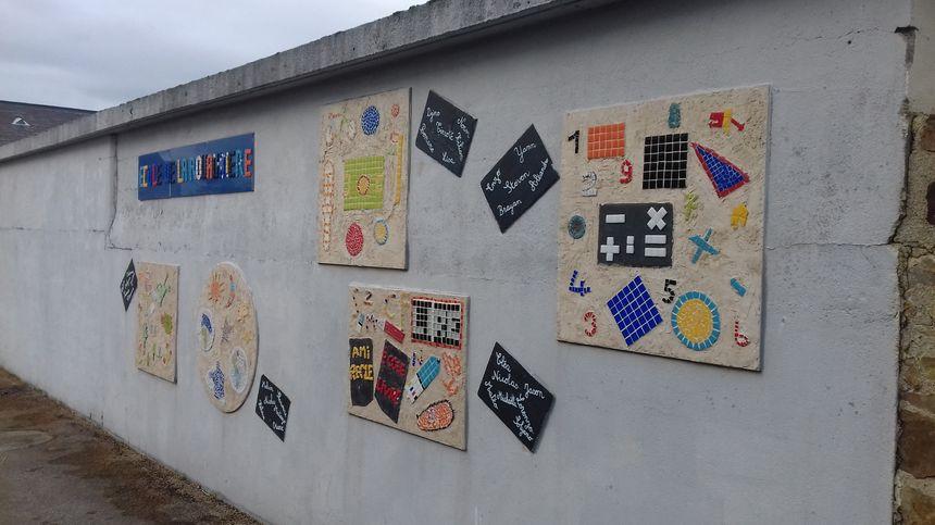 L'école de la Rouaudière dans le sud ouest de la Mayenne.
