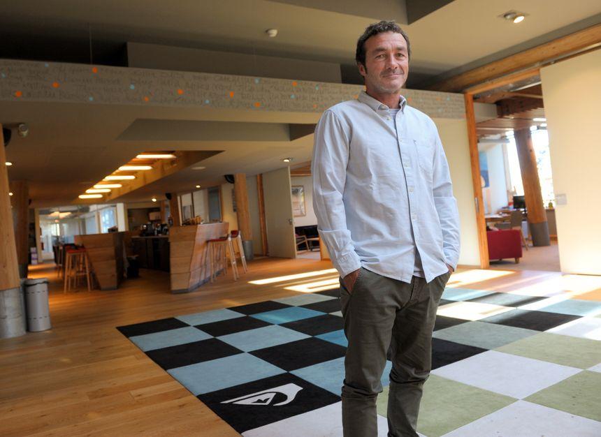 Pierre Agnès, 54 ans, PDG de Boardiders Inc. groupe possédant les marques Quiksilver, Billabong ou encore Roxy.