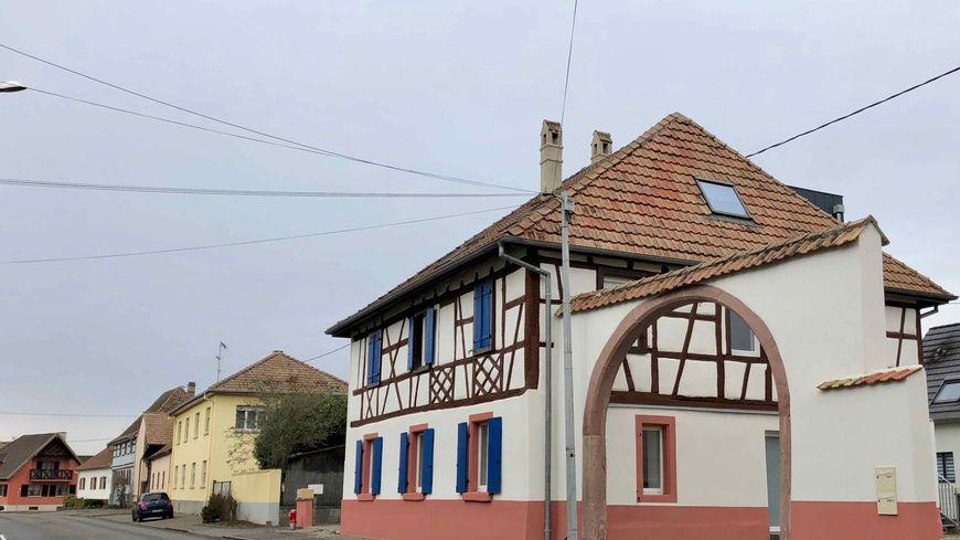 Dessenheim, colombages