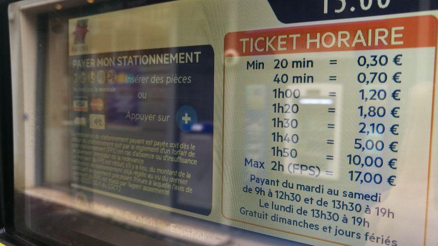 La nouvelle grille des tarifs de stationnement à Amiens a de quoi surprendre