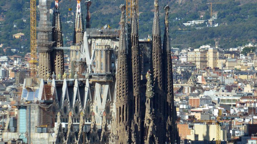 La Sagrada Familia à Barcelone, toujours en travaux