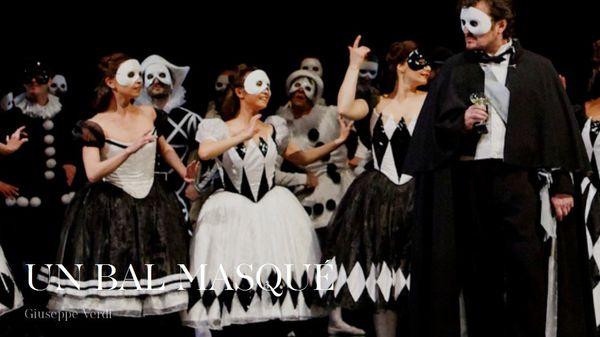 Un bal masqué à l'Opéra Bastille
