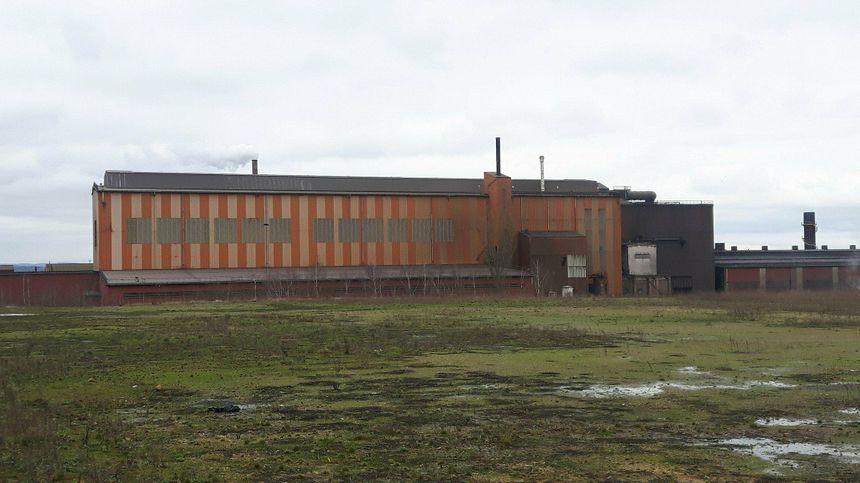 L'aciérie d'Ascométal à Hagondange