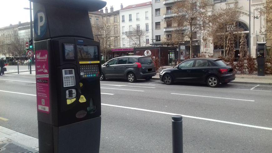 Horodateur à Valence