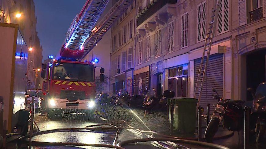 incendie rue Nollet