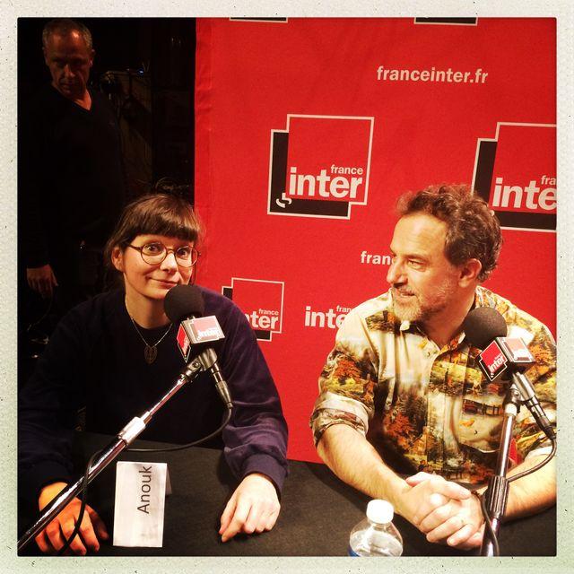 Anouk Ricard et Fred Bernard