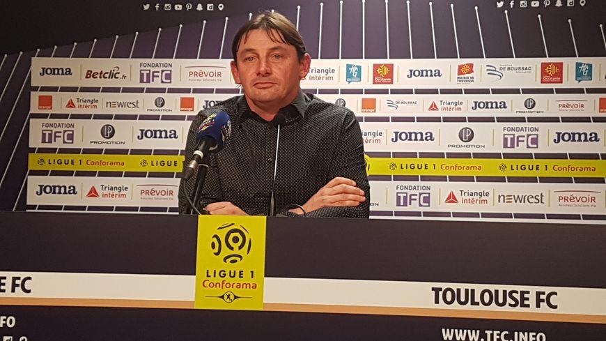 Première rêvée en Ligue 1 pour Michael Debève, avec cette victoire face à Troyes au Stadium (1-0)
