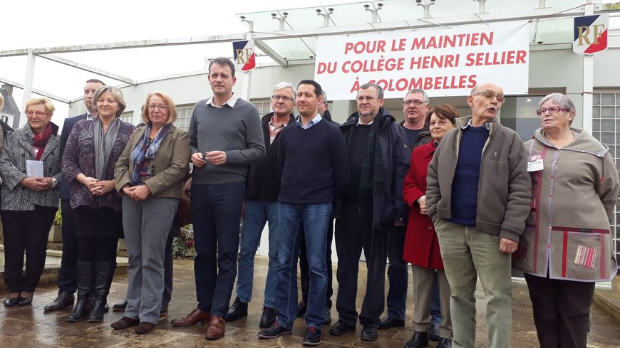 Mobilisation à Colombelles pour sauver le collège