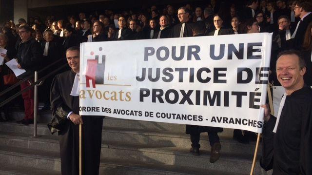 Les avocats demandent le maintien de juridictions proches des citoyens.