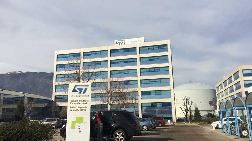Le site STMicroelectronics de Grenoble