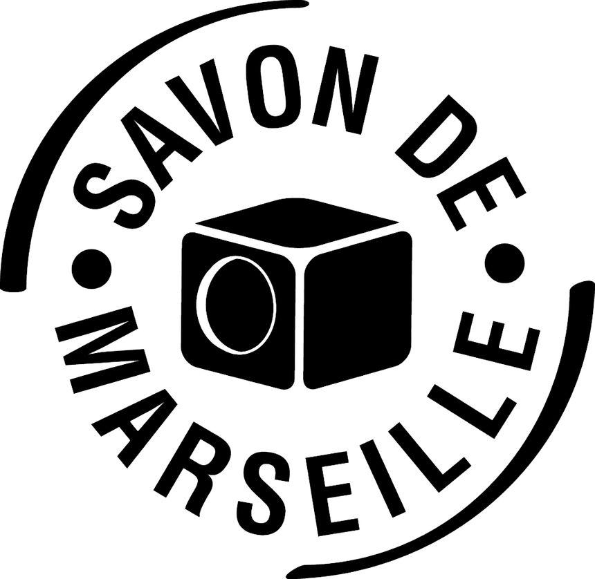Le logo de l'Union des professionnels du savon de Marseille.