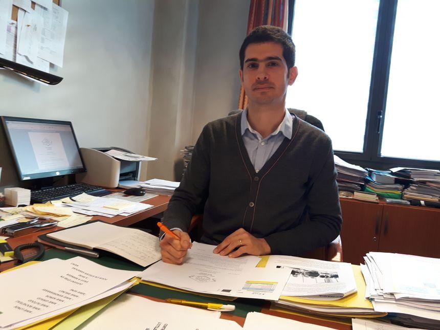 Edouard Prono, directeur de l'Ehpad Les 4 Saisons à Bagnolet