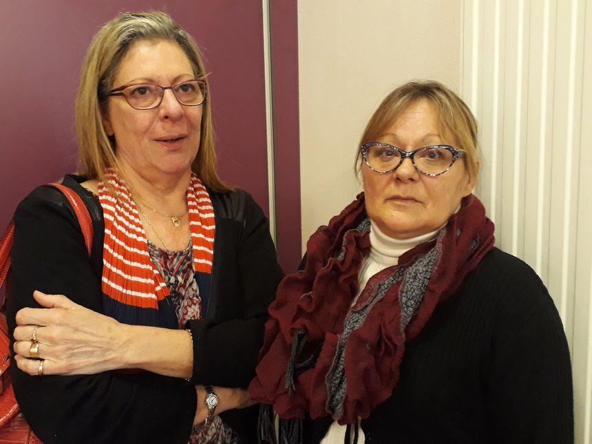 Eliane (à droite) se bat pour son père victime d'un cancer de la plèvre lié à l'amiante