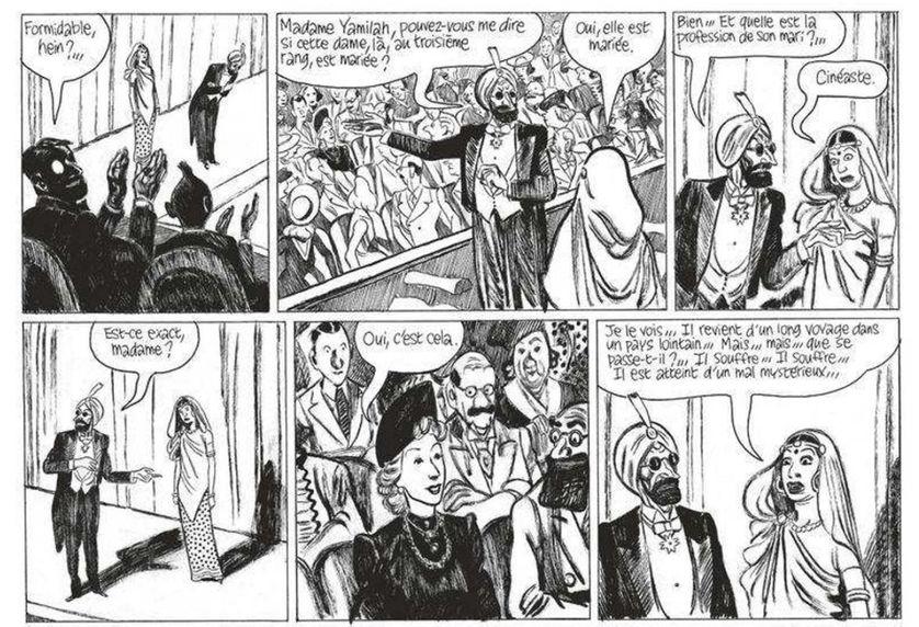 """Dans """"Variations"""", Blutch s'inspire librement de Tintin ou encore d'Astérix."""