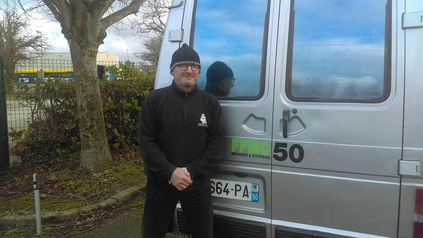 Thierry Marie, Coordinateur de la Fédération Française des motards en colère de la Manche (FFMC 50)