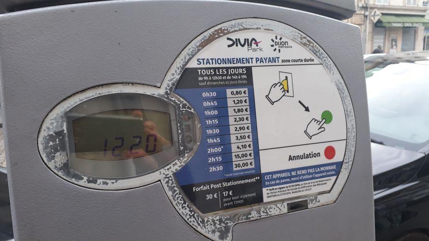 Les prix du stationnement ont flambé à Dijon depuis le 1er janvier, avec un tarif de 30 euros pour 2H30 dans les rues de l'hyper-centre
